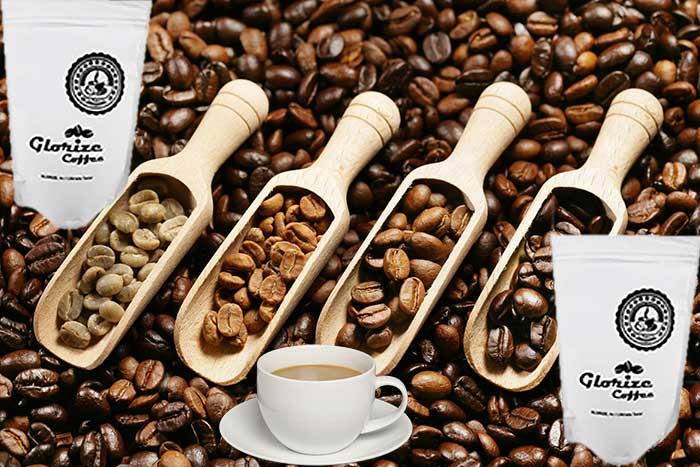 Coffee with low acidity
