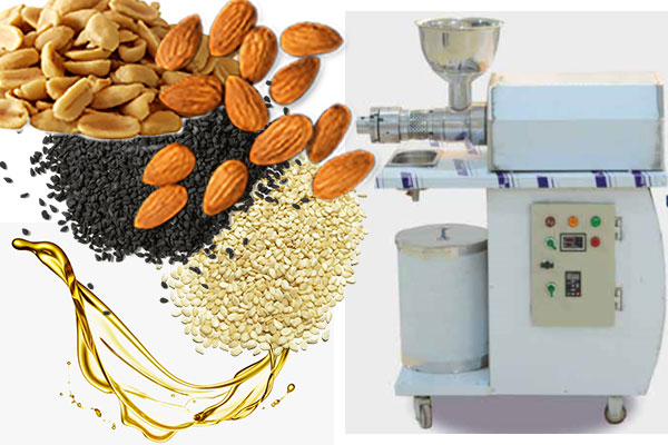 Oil extraction machine for small business